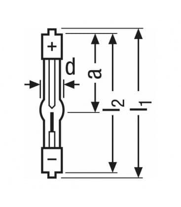 XBO  100W ofr SFc7.5/SFa9