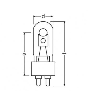 HQI-t 150W-ndl UVS G12