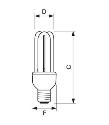 Genie 14W-865 CDL E27