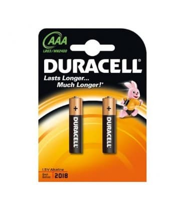 LR03 AAA alkaline 1.5V Blister de 2 LR03-AAA-2 5000394077140