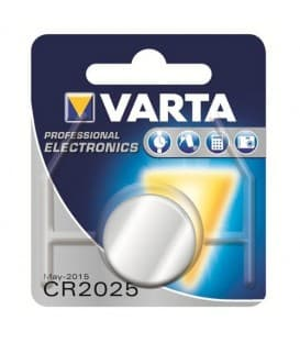 CR2025 Lithium 3V 170mAh 6025