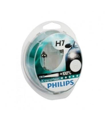 H7 12V 55W PX26d X treme Vision+100 Dvojno pakiranje 12972XVS2-DUO 8727900371703