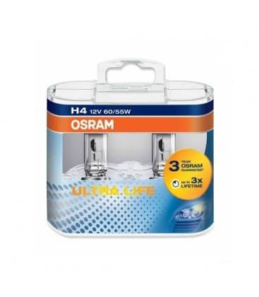 H4 12V 60W 64193 ULT P43t Ultra Life Doppelpack 64193-ULT-DUO 4008321416186