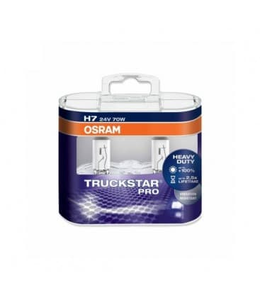 H7 24V 70W 64215 PX26d Truckstar PRO Double pack 64215-TSP-DUO 4008321785145