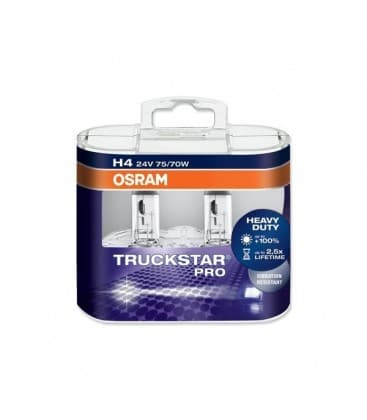 H4 24V 75W 64196 LTS Tsp P43t Truckstar PRO - Dvojno pakiranje