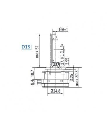 D1S 35W Xensation TU 53620H MIH PK32D