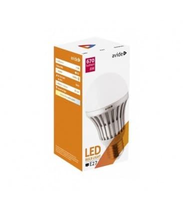 LED Globe G60 8W 220-240V NW E27