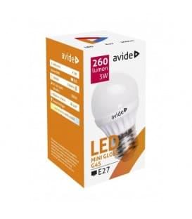 LED Mini Globe G45 3W 220-240V NW E27