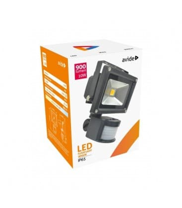 LED Reflektor 10W (100W) NW IP65 PIR mit Bewegungssensor