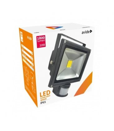 LED Reflektor 20W (200W) NW IP65 PIR with motion sensor