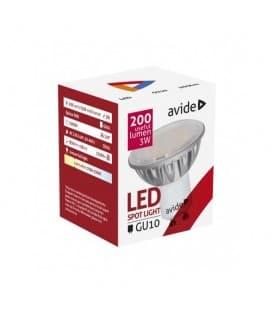 LED Spot Alu 3W WW GU10