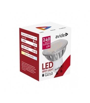 LED Spot Alu 4W WW GU10