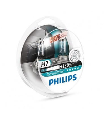 H7 12V 55W PX26d X treme Vision+130 Dvojno pakiranje 12972XVS2-DUO 8727900350265