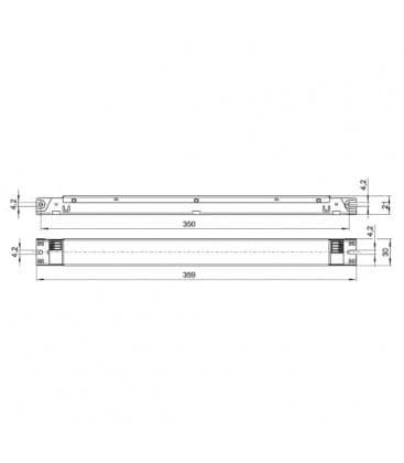 ELXc 140.862 1x18-40W TC-F/-L, T5
