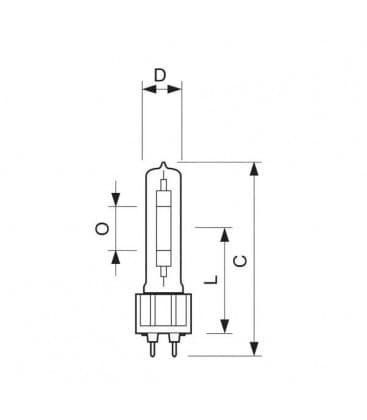 Master SDW-TG 100W-825 GX12-1 Mini