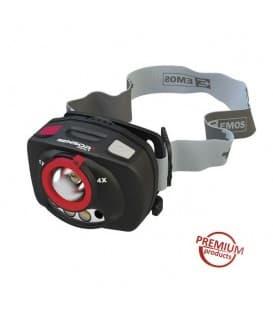 Lampada frontale 1W XP-C CREE (Q4) LED + IR+ Focus