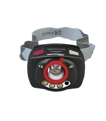 Kopflampe 1W XP-C CREE (Q4) LED + IR+ Focus