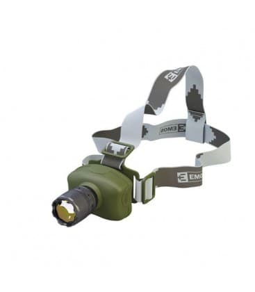 Lampada frontale LED 3W CREE 3xAAA+ zoom