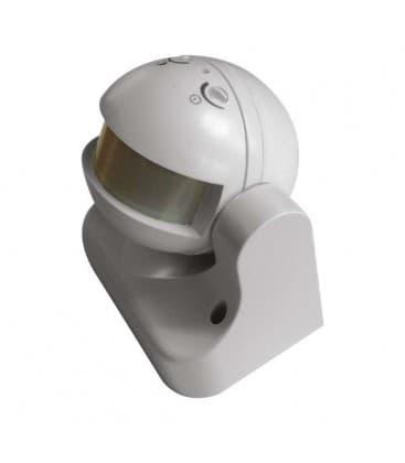 Sensor de movimiento (PIR) LX39 180 ° Blanca
