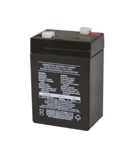 Más sobre SLA batería 6V/4Ah