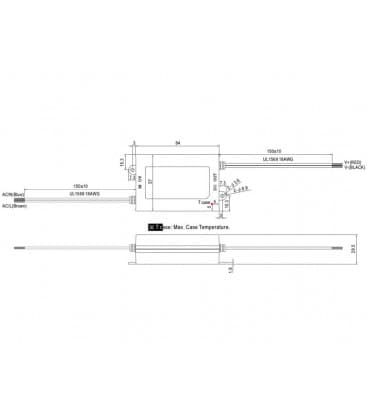 APV-25-24, 24V / 25W / IP30