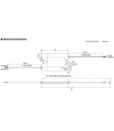 APC-25-700, 11-36V / 25W / IP30