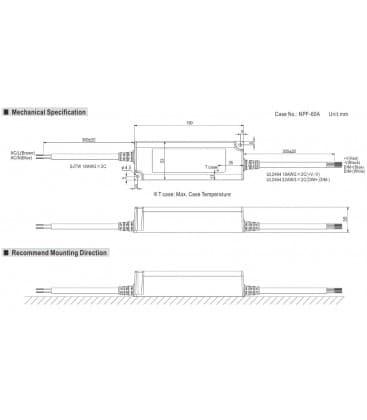 PWM-60-24, 24V / 60W / IP67