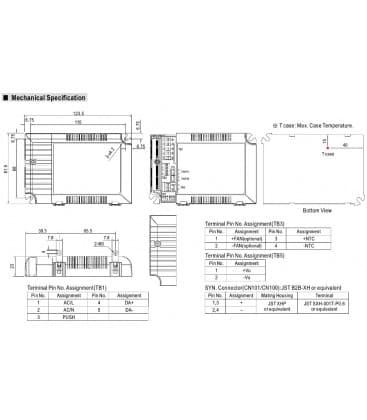 LCM-40DA, 2-100V / 40W / IP20
