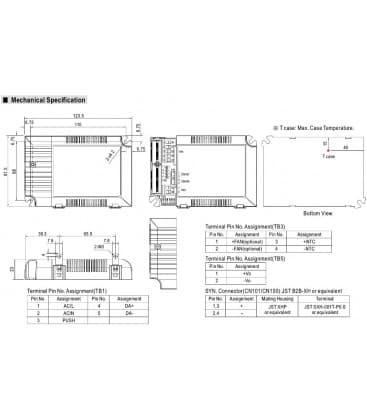 LCM-60DA, 2-90V / 60W / IP20
