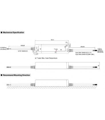 LPF-40D-24, 24V / 40W / IP67
