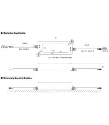 LPF-90D-24, 24V / 90W / IP67