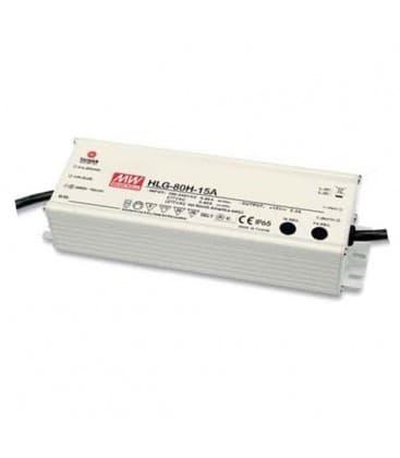 HLG-80H-12B, 12V / 60W / IP67