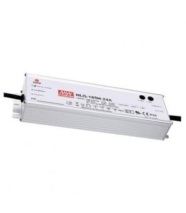 HLG-185H-24B, 24V / 187W / IP67