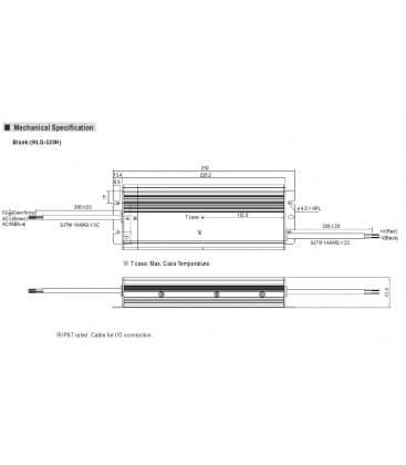 HLG-320H-24, 24V / 320W / IP67