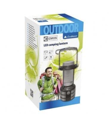 Camping lantern LED 4xC battery