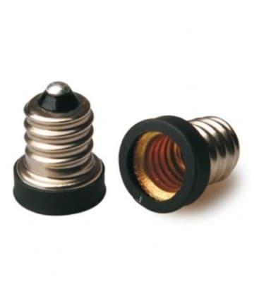 Adaptador de sostenedor lampara de E12 a E10 LA-ZKC-A1210 8033638779583