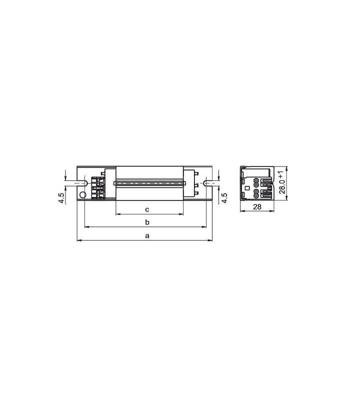 Vossloh Ballast Ln13 134 230v 50hz T5 Tc S Tc D Tc Dd Tc T