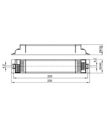 ELXc 218.246 2x18W T8