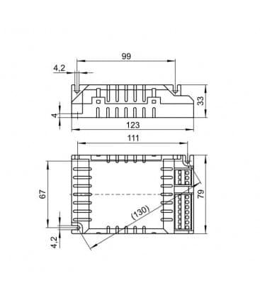 ELXd 226.801 2x26W TC-dEL/-tEL Gradable