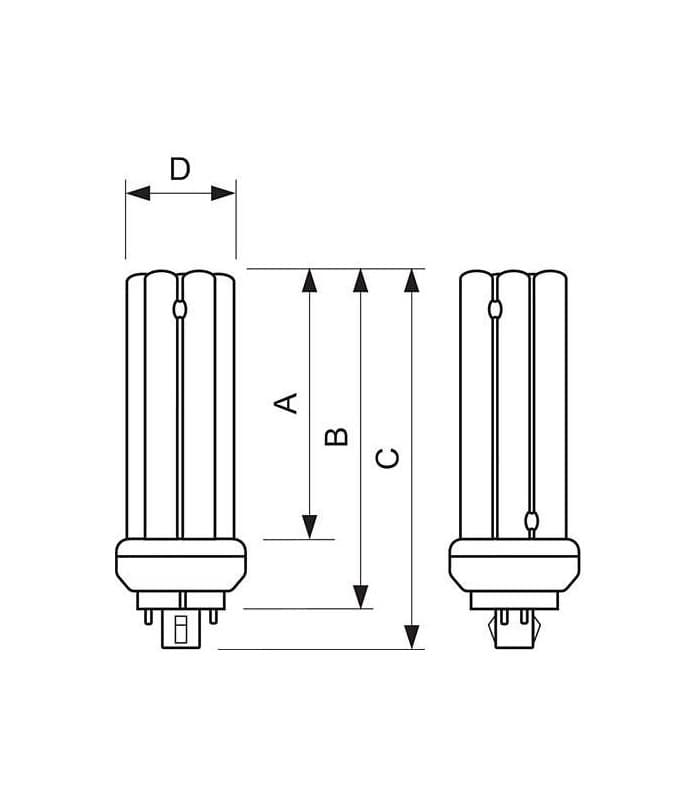 Philips MASTER PL-T 32W//840//4P