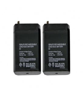 SLA Battery 4V/0,7Ah 2x