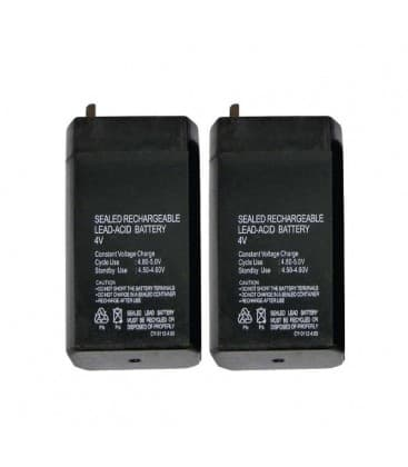 SLA batería 4V/0,7Ah 2x