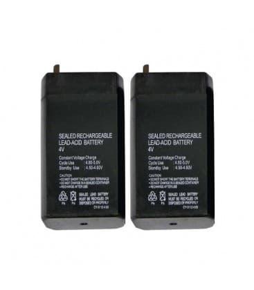 SLA Batterie 4V/0,7Ah 2x