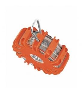 LEDguardian Phares routiers SL302 6000K Blanc/Orange