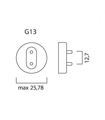 T8 F70W-827 G13 Luxline plus 1764mm