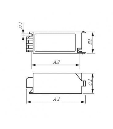 SN 59 1000-1800W 220-240V 50-60Hz Arrancador