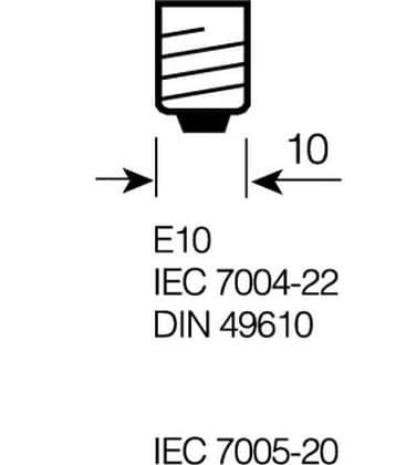 3605 2.4V E10 with lens