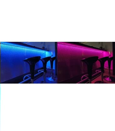 LED strips 12V 5050 7,2W/m IP20  RGB