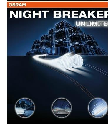 H4 12V 60/55W 64193 NBU Night Breaker Unlimited - Double pack