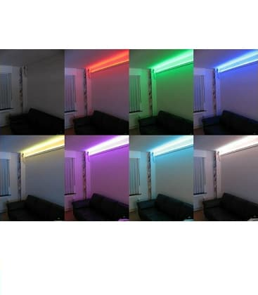 LED strips 12V 5050 14,4W/m IP65  waterproof RGB